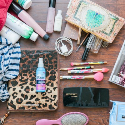 How to pack a chic overnight bag