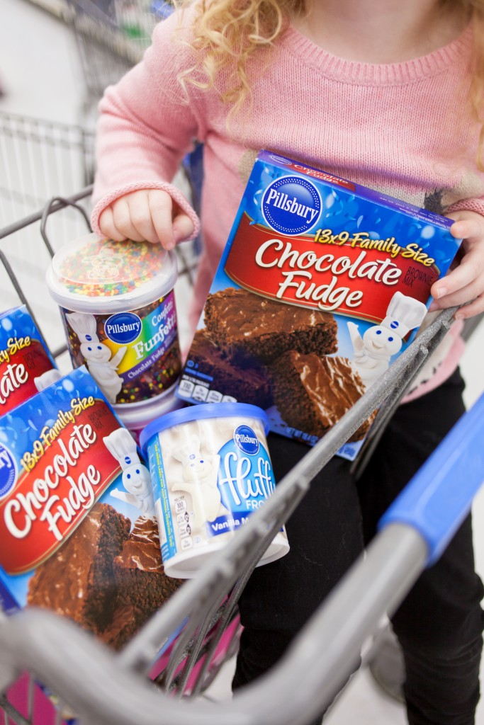 Walmart is our go to spot for picking up affordable baking supplies we can mix up in a moment!