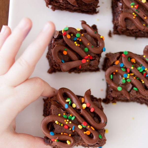 third quarter brownies, a family game day tradition
