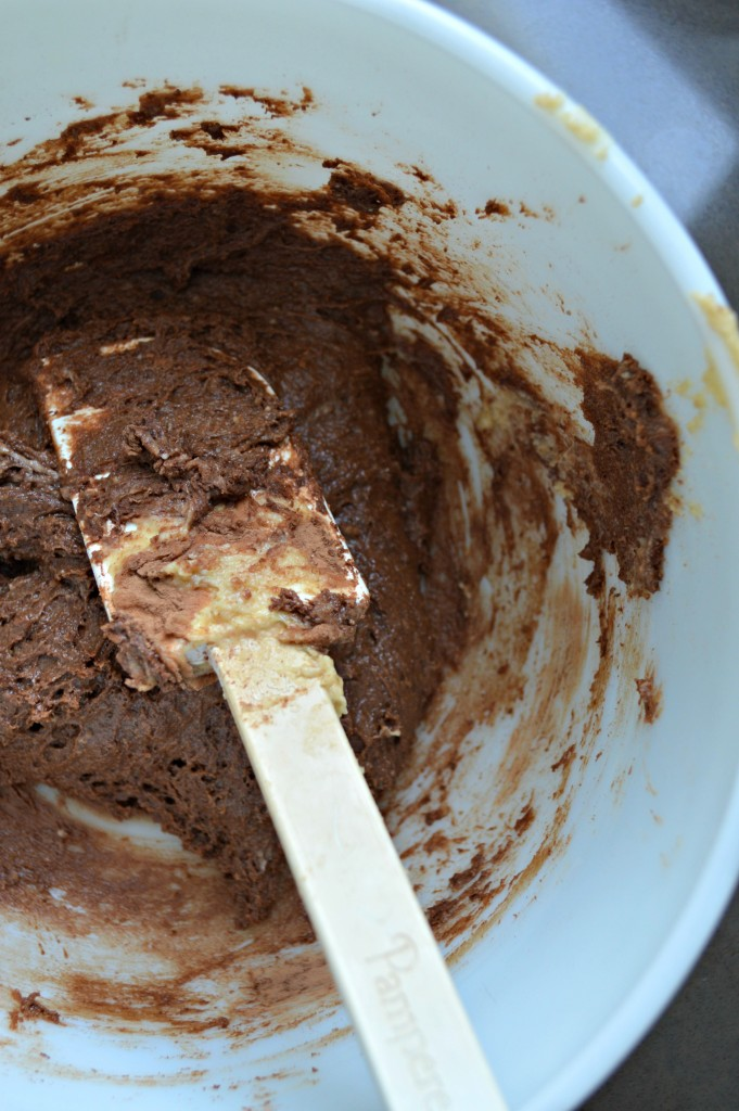 chocolate whoopie pie batter