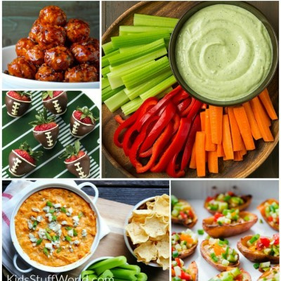 Healthier Super Bowl Appetizers & Game Day Food
