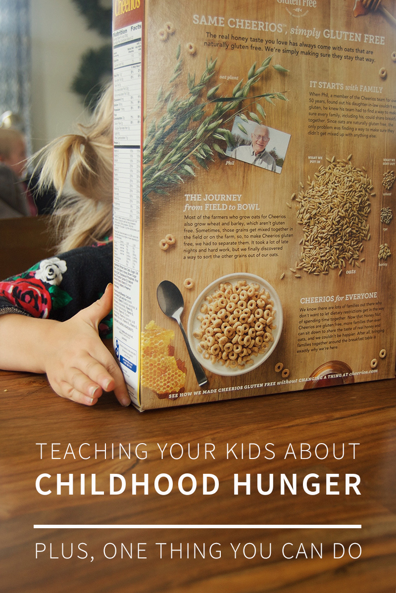 A short guide to teaching your kids about childhood hunger—and one simple thing your family can do to help. #FightHunger