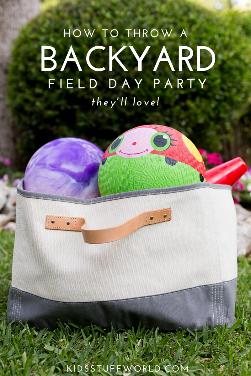 Field Day -- the quintessential party for summer. Easy to do, doesn't cost much and the kids have a blast. This post has lots of ideas for great field day games & activities