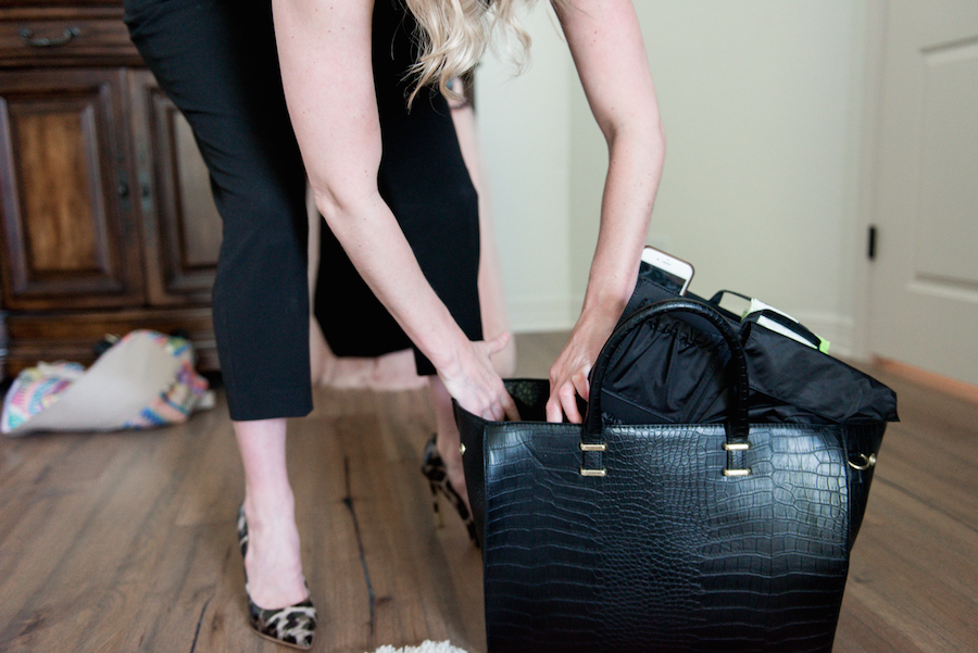 ToteSavvy bag inserts take your favorite bag from work mode to mommy mode