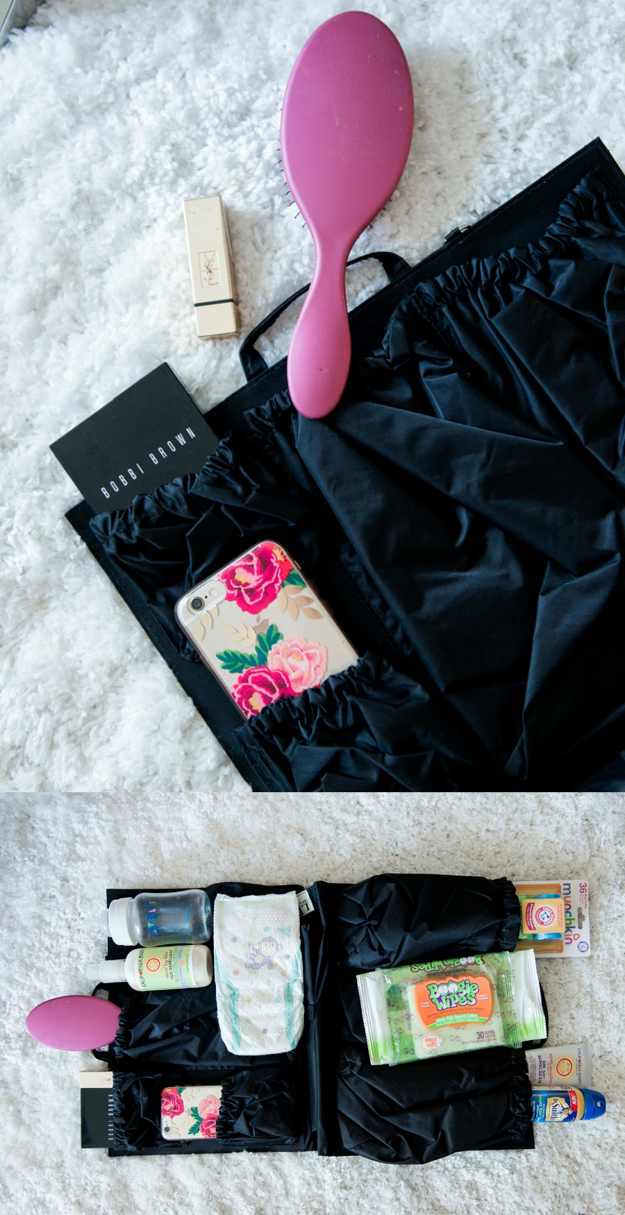 whats in my diaper bag -- the tote savvy insert lets me keep using my favorite bags but makes them just as functional, if not better than a regular diaper bag! Dream come try