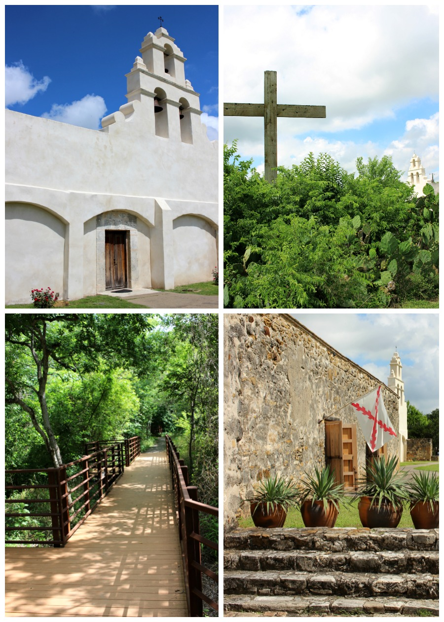 Mission San Juan in San Antonio, Texas - one of the five Spanish missions on the San Antonio Riverwalk. This guide shows you how to visit them all with your family