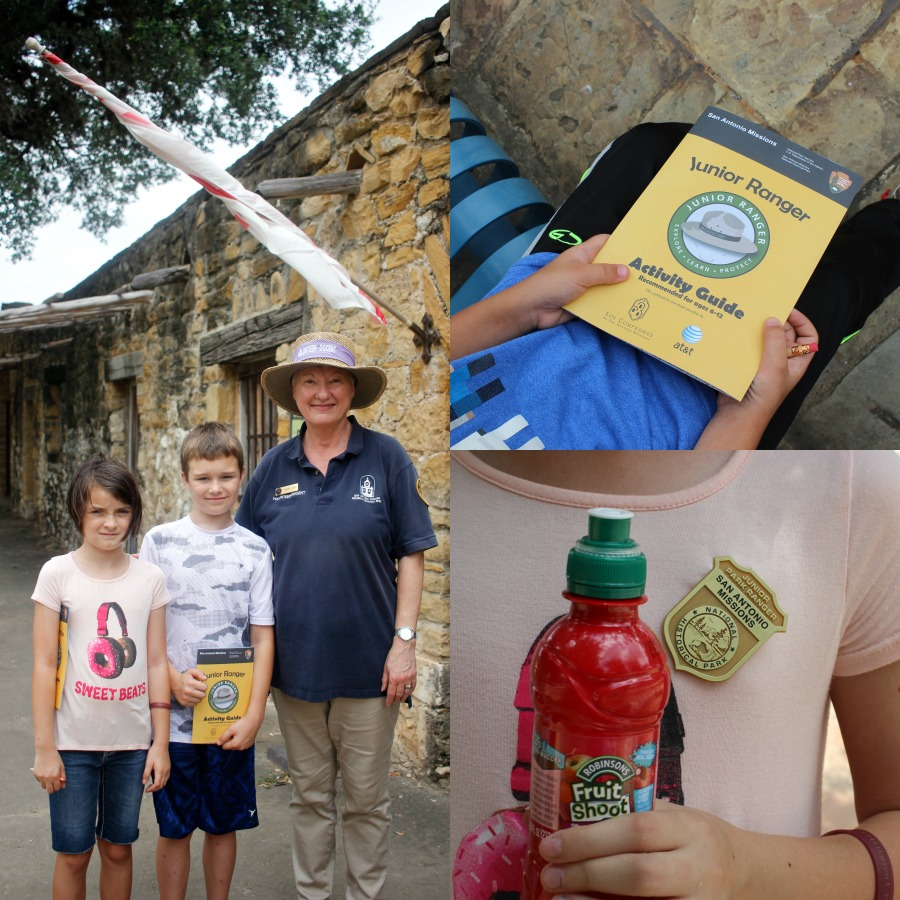 Junior Ranger Program at the San Antonio Missions